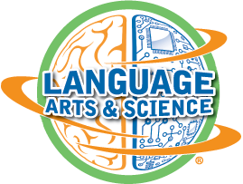 Language Arts and Sciences Logo